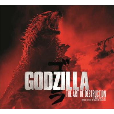 Артбук Insight Editions Godzilla: The Art of Destruction [Hardcover]