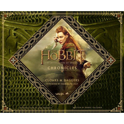 Артбук Harper Design The Hobbit: The Desolation of Smaug Chronicles: Cloaks & Daggers [Hardcover]
