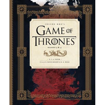 Артбук Inside HBO's Game of Thrones II: Seasons 3 & 4 [Hardcover]