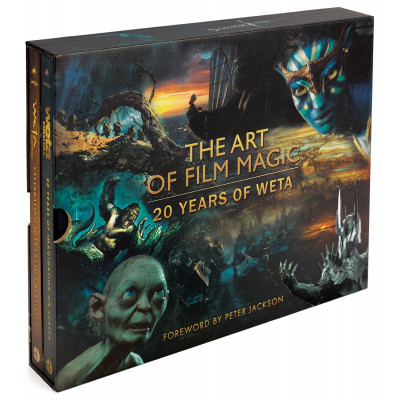 Артбук Harper Design The Art of Film Magic: 20 Years of Weta [Hardcover]