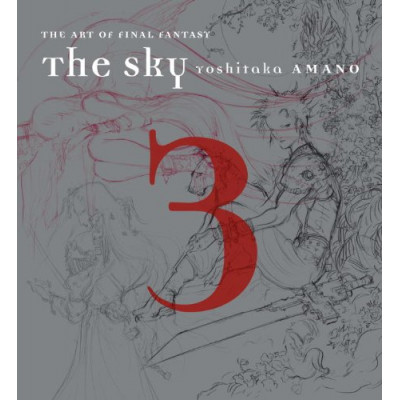 Артбук Dark Horse The Sky: The Art of Final Fantasy Book 3 [Hardcover]
