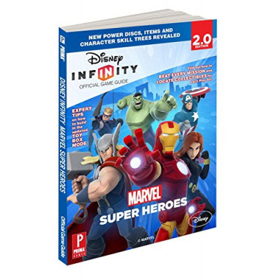 Disney Infinity: Marvel Super Heroes: Prima Official Game Guide [Paperback]