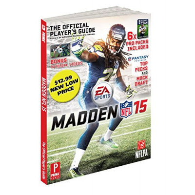 Madden NFL 15: Prima Official Game Guide [Paperback]