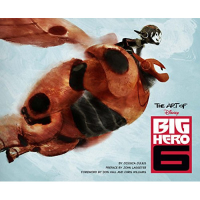 Артбук Chronicle Books The Art of Big Hero 6 [Hardcover]