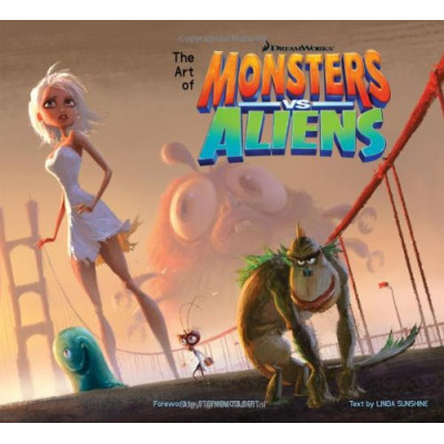 The Art of Monsters vs. Aliens [Hardcover]
