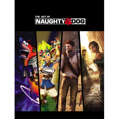 Артбук Dark Horse The Art of Naughty Dog [Hardcover]
