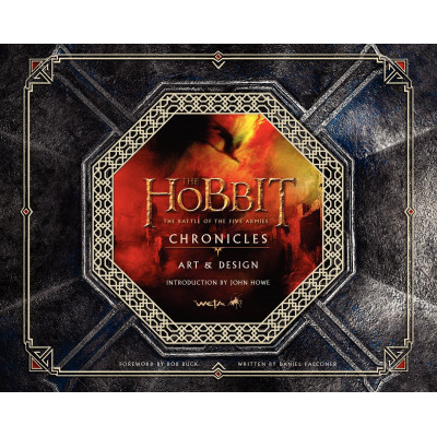Артбук Weta The Hobbit: The Battle of the Five Armies Chronicles: Art & Design [Hardcover]