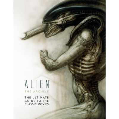 Артбук Titan Books Alien the Archive: The Ultimate Guide to the Classic Movies [Hardcover]
