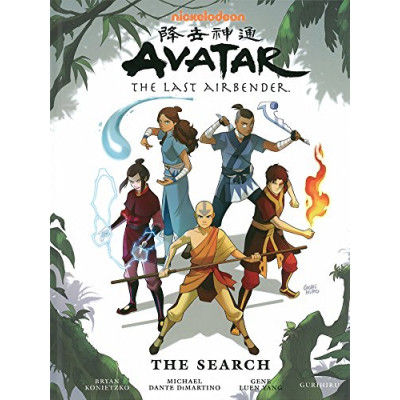 Комикс Dark Horse Avatar: The Last Airbender, The Search [Hardcover]
