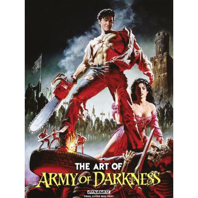Артбук Art of Army of Darkness [Hardcover]