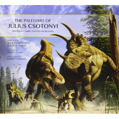 Артбук Titan Books The Paleoart of Julius Csotonyi [Hardcover]