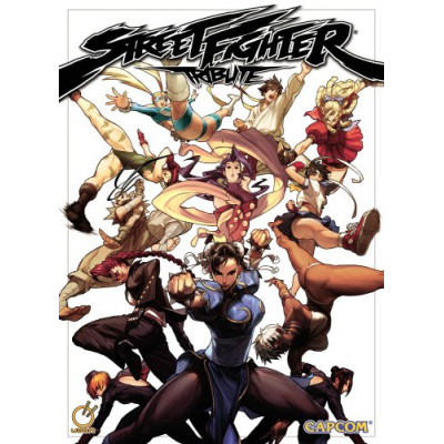 Street Fighter Tribute [Paperback]
