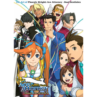 The Art of Phoenix Wright: Ace Attorney - Dual Destinies [Paperback]