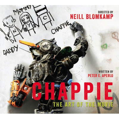 Артбук Titan Books Chappie: The Art of the Movie [Hardcover]