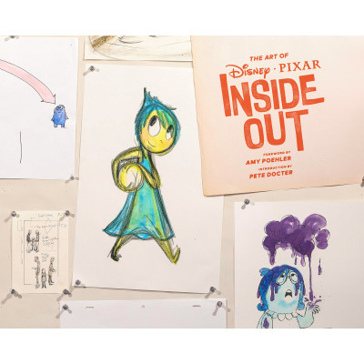 Артбук Chronicle Books The Art of Inside Out [Hardcover]