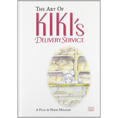 The Art of Kiki's Delivery Service: A Film by Hayao Miyazaki [Hardcover]