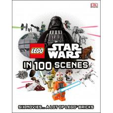 LEGO Star Wars in 100 Scenes [Hardcover]