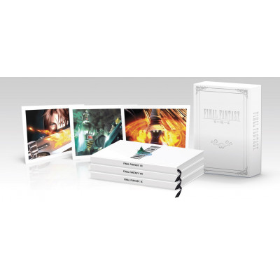 Final Fantasy Box Set (FFVII, FFVIII, FFIX): Official Game Guide [Hardcover]