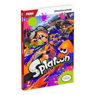 Splatoon: Prima official Game Guide [Paperback]