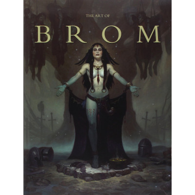 Артбук Flesk The Art of Brom [Hardcover]