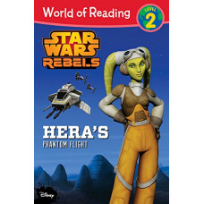 World of Reading Star Wars Rebels Hera's Phantom Flight: Level 2 [Paperback]