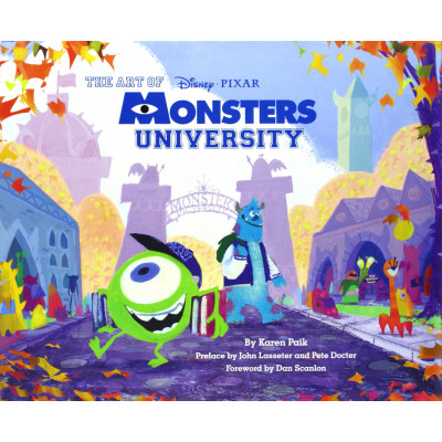 Артбук Chronicle Books The Art of Monsters University [Hardcover]