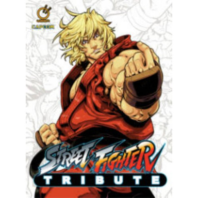 Артбук Udon Street Fighter Tribute HC [Hardcover]