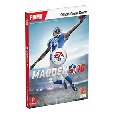 Madden NFL 16 Official Strategy Guide: Standard Edition [Paperback]