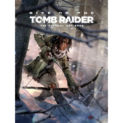 Артбук Titan Books Rise of the Tomb Raider: The Official Art Book [Hardcover]
