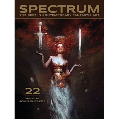Артбук Flesk Spectrum 22: The Best in Contemporary Fantastic Art [Paperback,Hardcover]