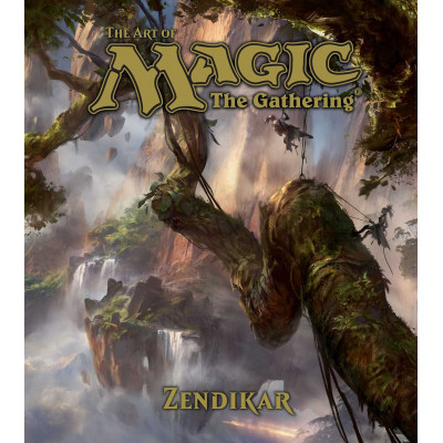 Артбук The Art of Magic: the Gathering - Zendikar [Hardcover]