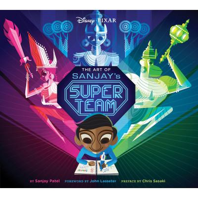 Артбук Chronicle Books The Art of Sanjay's Super Team [Hardcover]