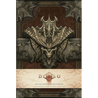 Артбук Insight Editions Diablo Deluxe Sketchbook [Hardcover]