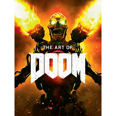 Артбук Titan Books The Art of Doom [Hardcover]