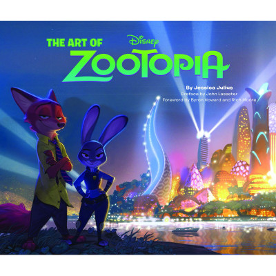 Артбук Chronicle Books The Art of Zootopia [Hardcover]