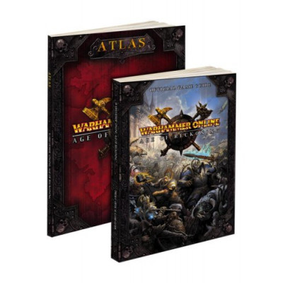 Warhammer Online: Age of Reckoning Guide and Atlas Bundle: Prima Official Game Guide [Paperback]