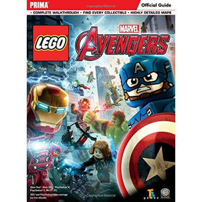 LEGO Marvel's Avengers Standard Edition Strategy Guide [Paperback]