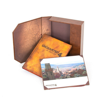 The Art of Uncharted 4: A Thief's End Limited Edition [Hardcover]
