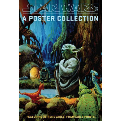 Книга Abrams Star Wars Art: A Poster Collection (Poster Book): Featuring 20 Removable, Frameable Prints [Paperback]