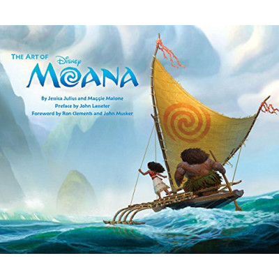 Артбук Chronicle Books The Art of Moana [Hardcover]