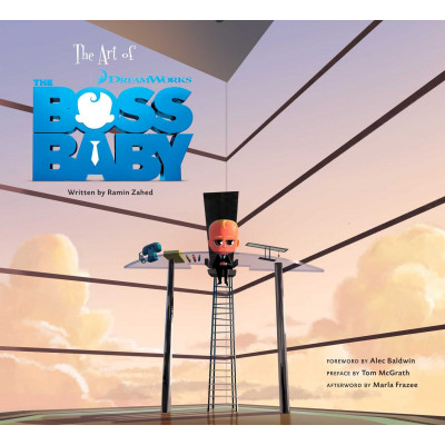 Артбук Insight Editions The Art of The Boss Baby [Hardcover]