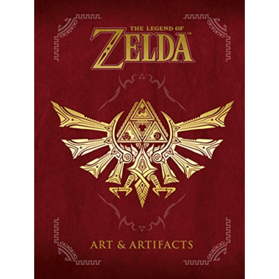 Артбук Dark Horse The Legend of Zelda: Art & Artifacts [Hardcover]