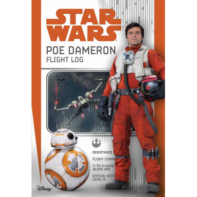 Книга Star Wars: Poe Dameron: A Pilot's Logbook (Replica Journal) [Hardcover]