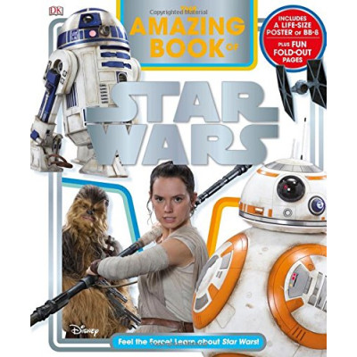 Книга Dorling Kindersley The Amazing Book of Star Wars [Hardcover]