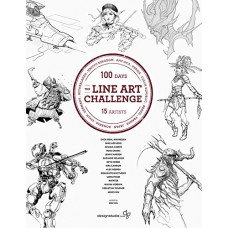 The Line Art Challenge: 100 sketches for 100 days [Paperback]