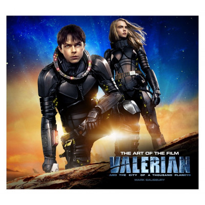 Артбук Titan Books Valerian and the City of a Thousand Planets The Art of the Film [Hardcover]
