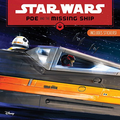 Книга Disney Lucasfilm Press Star Wars Poe and the Missing Ship [Paperback]