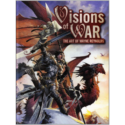 Артбук Visions of WAR: The Art of Wayne Reynolds [Hardcover]