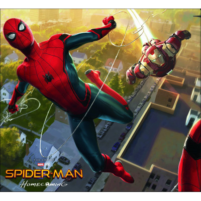 Артбук Marvel Spider-Man: Homecoming - The Art of the Movie [Hardcover]
