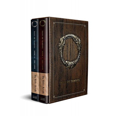 Elder scrolls Titan Books The Online - Volumes I & II: The Land & The Lore (Box Set) [Hardcover]
